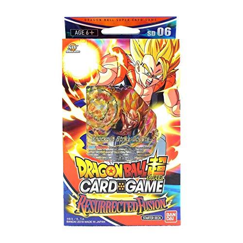 "Bandai, super Dragon-Ball-Kartenspiel, BCLDBST1206: Starter Deck ""Resurrected Fusion""."