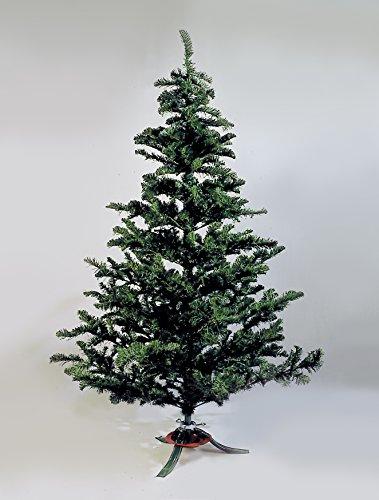 E+N Deko Christbaum Weihnachtsbaum Nobilis Tanne grün H:180cm, 638 Tips/Zweigchen, Ø: max.110cm,Kunststoff/Metall