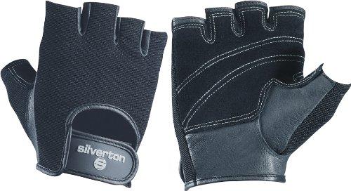 Silverton Fitness-gewichtheberhandschuh Trainingshandschuh Comfort, 43155, schwarz, M