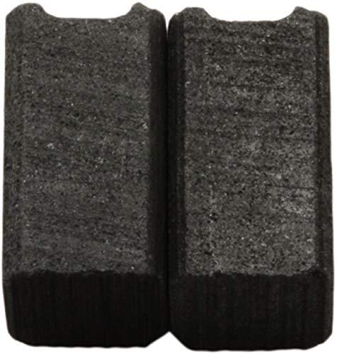 Escobillas de Carbón para BLACK & DECKER KR703 taladro - 6,3x6,3x11,5mm - 2.4x2.4x4.3
