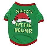 VENMO Weihnachten Hundebekleidung Polyester T Shirt Puppy Kostüm Hündchen Hund Kleidung Weiches...