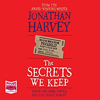 The Secrets We Keep                   By:                                                                                                                                 Jonathan Harvey                               Narrated by:                                                                                                                                 Gareth Bennett-Ryan,                                                                                        Emma Gregory                      Length: 12 hrs and 40 mins     32 ratings     Overall 4.1