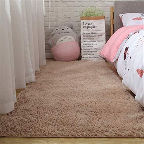 Jnszs Soft Carpet Living Room Bay Window For Bedroom Living Room Anti-slip Floor Mats Kids Room Carpet Rugs Living Room Bedroom Soft Carpet (Color : Camel, Size : 50x120cm)