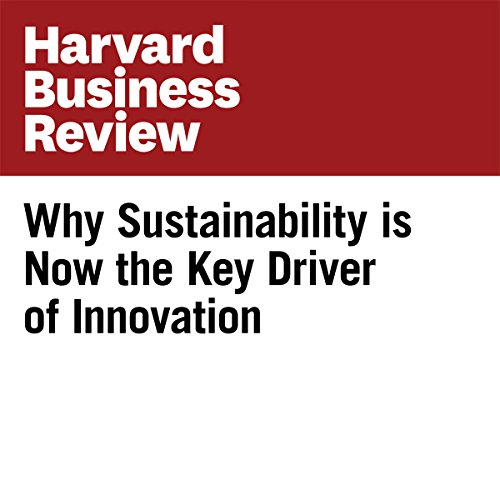 Why Sustainability is Now the Key Driver of Innovation (Harvard Business Review) Titelbild