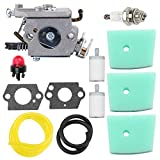 Trustsheer C1Q-EL24 Carburetor Tune Up Kit for Husqvarna 123C 123L 123LD 223L 223R 322C 322L 322R 323C 323L 325C 325CX 325L 325LX 326C 326L 326LX String Trimmer Brushcutter Pole Saw Edger