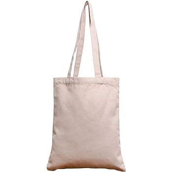 Bolsas de la compra Reutilizables, Bolsas de lona 100% algodón con cremallera, Regalo Tote Bag, Bolsa de Playa, Bolsa de Hombro, Bolsa de Libros: Amazon.es: Hogar