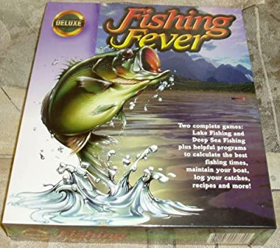 Fishing Fever Deluxe: Lake Fishing and Deep Sea Fishing, also Fishing Helpers (Sample Programs) by ValuSoft