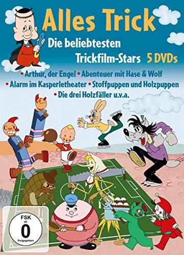 Alles Trick - Die beliebtesten Trickfilm-Stars [5 DVDs]