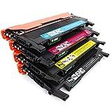 Cartouche de toner compatible W2070A (1 noir 1 cyan 1 magenta 1 jaune) remplace l'imprimante laser HP 150a 150nw 178nw 179fnw avec une nouvelle puce-red