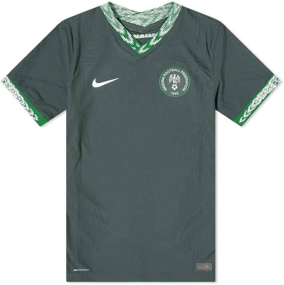 Amazon.com : 2020-2021 Nigeria Vapor Away Football Soccer T-Shirt ...
