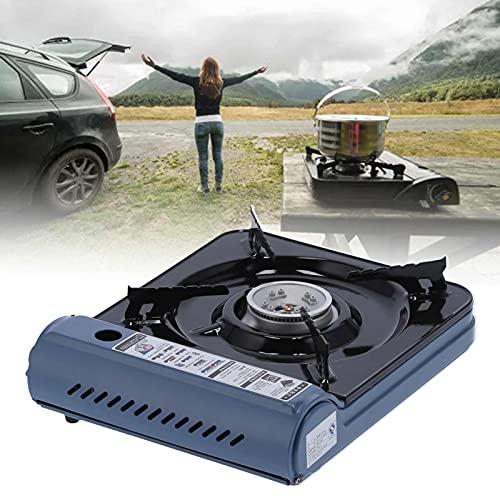 CUTULAMO Estufa de butano, Estufa de Gas portátil con Potencia de Fuego controlable, fácil de Transportar y Usar para Barbacoa al Aire Libre y Familiar
