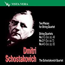 Dmitri Schostakovich - Two Pieces for String Quartet. String Quartets (Schostakovich Quartet)