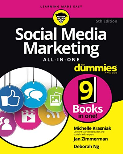 Compare Textbook Prices for Social Media Marketing All-in-One For Dummies For Dummies Business & Personal Finance 5 Edition ISBN 9781119696872 by Krasniak, Michelle