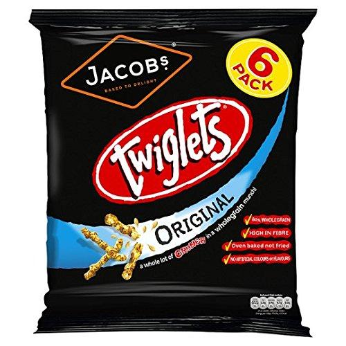 Jacob's Twiglets Snacks 6 X 24G