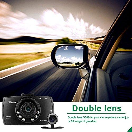 Springdoit 27'Zoll HD 1080 P dual Lens Sprint Kamera Video DVR cam Recorder nachtsicht Funktion