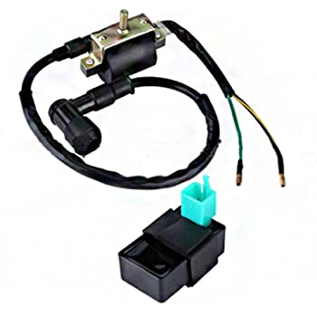 Mx-M Ignition Coil for 50cc 70cc 90cc 110cc 125cc ATV Dirt Bike Go Kart