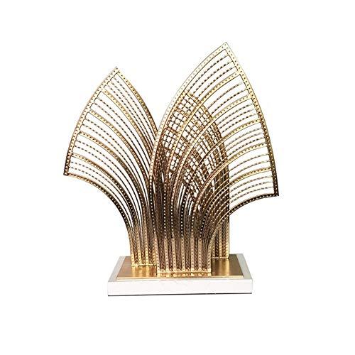 Modern Interieur Sculptuur Accenten Metalen Woonkamer Ingang Creatieve Tv-Kast Decoraties