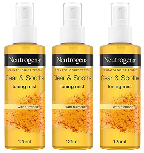 Neutrogena Clear and Soothe Toning Mist, 4.5 oz (Paquete de 3)