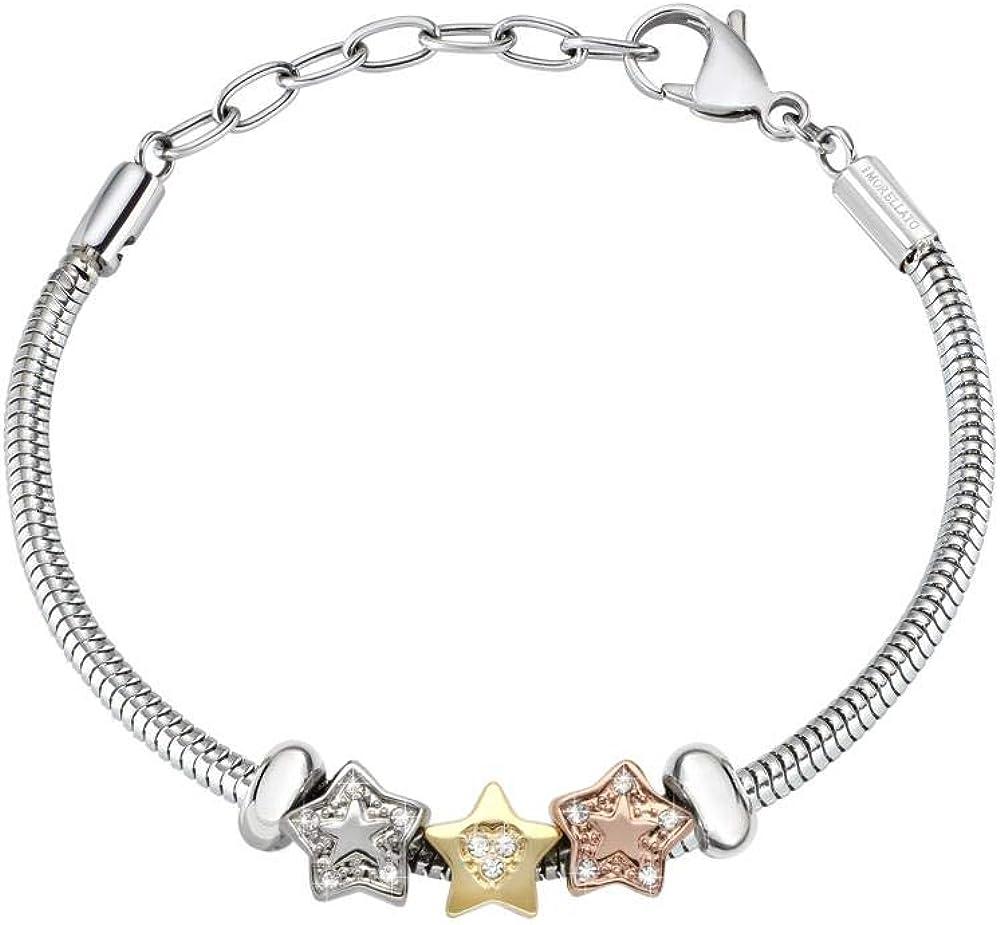Morellato, bracciale con charm per donna,in  acciaio_inossidabile SCZ791