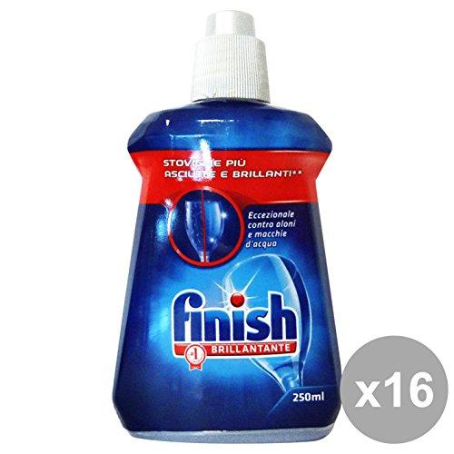 Finish Set 16 wasverzachter vaatwasser blauw 250 ml. Reinigingsmiddel huis