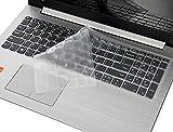 Tastaturabdeckung für Lenovo Yoga C740 C940 15,6 Zoll (39,6 cm), ultradünne 2020 2019 39,6 cm (15,6 Zoll) Laptop-Tastaturschutz (mit Ziffernblock, nicht