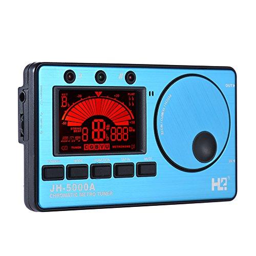 ammoon 3in 1Lectronique spia Timer elettronico Tuner M tronome spia Tone generateurr Int Elegante G Mic Tuning Schermo LCD per cromatico Chitarra Basso ukul Elegante L Violino