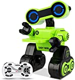 Xiangtat Robot Toy for Kids, Programmable Interactive RC Robot w/ Remote Control, Educational Intelligent Robot Kit, Touch & Sound Control, Speak, Walk, Dance, Sing, Rechargeable Robotics (Green)