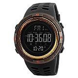 SKMEI Herren Sportuhren Countdown Doppelzeit Uhr Alarm Chronograph Digital Armbanduhren Relogio...