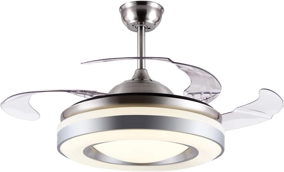 ILSELL Rare 42'' New product!! Modern Ceiling Fan Light with Invisible Retractable