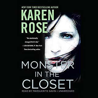 Monster in the Closet audiobook cover art