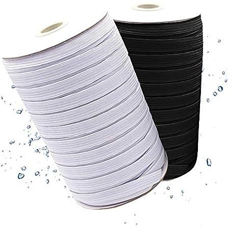 Gummiband Hosengummi 3mm Breite Standard-Elastik Gummilitze Weiß 20meters DE Neu