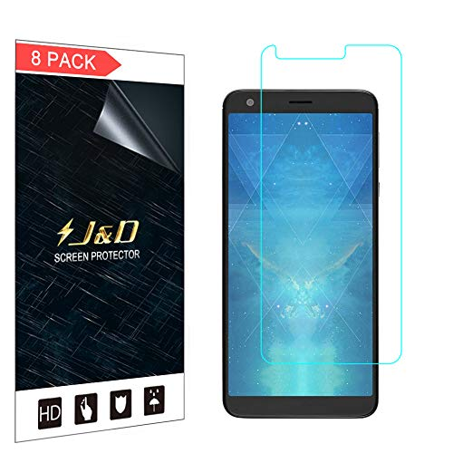 JundD Kompatibel für 8er Set Sharp AQUOS B10 Bildschirm Schutzfolie, [Nicht Ganze Deckung] Premium HD-Clear Schutzfolie für Sharp AQUOS B10 - [Nicht kompatibel mit AQUOS C10]