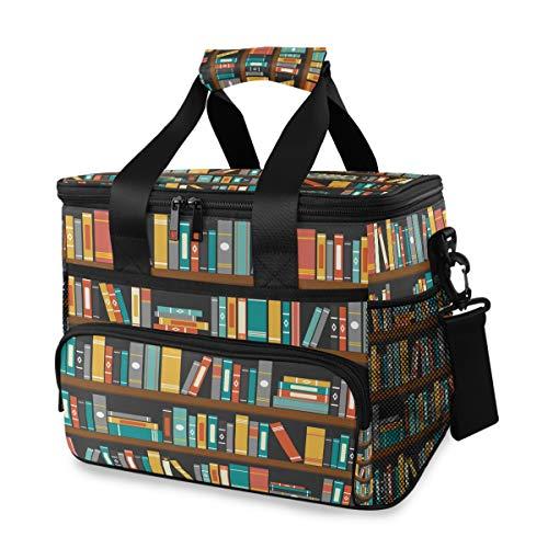Schouderriem, draagbare reis, picknick, koelbox, ijszak, bibliotheek, boekenrek, lunchtas