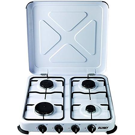 Fm - Cocina gas 3 fuegos hg300: Amazon.es: Hogar