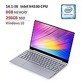BMAX MaxBook X14 Ordenador portátil 14.1 Pulgadas FHD, 2.4GHz Intel Quad...