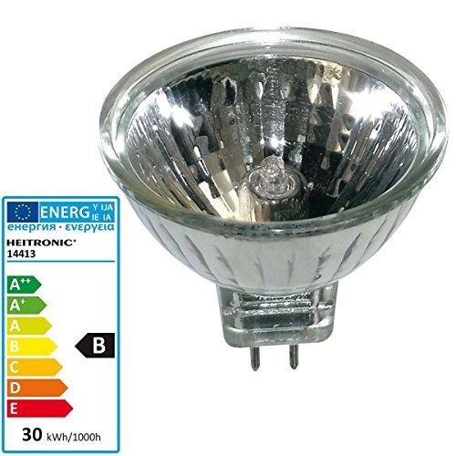 Preisvergleich Produktbild HEITRONIC Halogen Spiegelreflektorlampe MR16 , GU5, 3,  28W