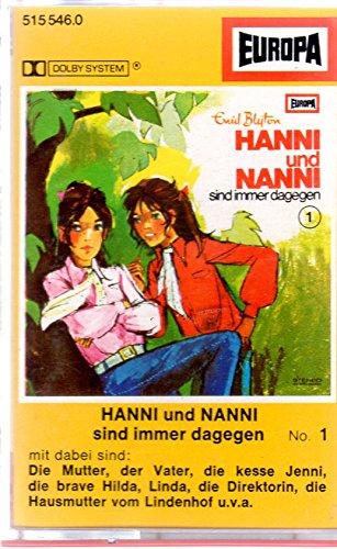 Hanni und Nanni MC Hörspielkassette # 1 Immer Dagegen