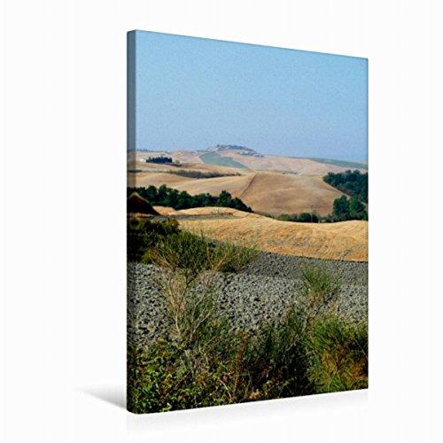 Calvendo Premium Textil-Leinwand 50 cm x 75 cm hoch, Crete   Wandbild, Bild auf Keilrahmen, Fertigbild auf echter Leinwand, Leinwanddruck: In der Toskana Orte Orte