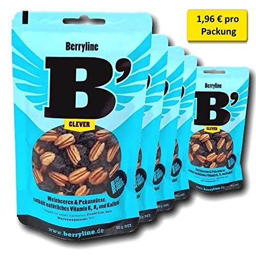 !!Nervenpusher!! Super-Sparangebot 5er Pack Berryline B´CLEVER 5 Beutel