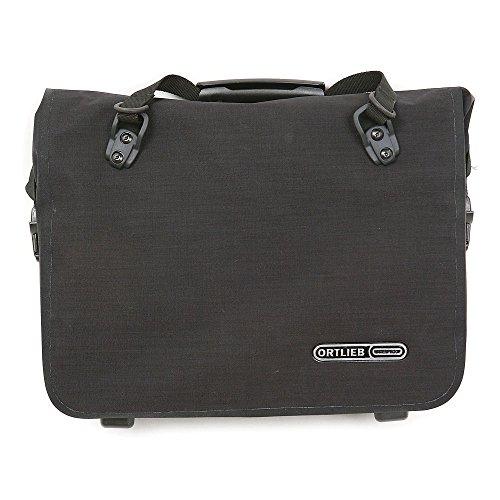 Ortlieb Unisex-Adult Office-Bag QL2.1 Einzeltasche Radtaschen, schwarz Cordura 13 l, One Size
