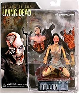 Attack Of The Living Dead Series 1 Hellen (Pale Skin Grinning) Action Figure