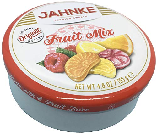 JAHNKE FRUIT MIX 1er Pack ( 1 x 135g ) Bonbons mit Fruchtgeschmack