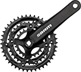 SRAM S600 Crankset - 3 x 8-speed, 175mm x 42-32-22T, Square Taper, Black