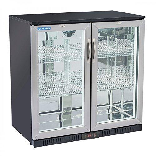 Vitrine koelkast onder banken serie BBA208 vleugeldeuren Hotel Bar restaurant