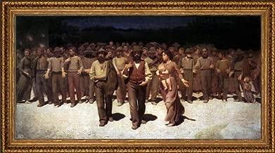 Art Oyster Giuseppe Pellizza Da Volpedo Il Quarto Stato - 14.05