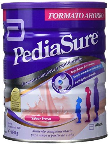 PediaSure - Complemento Alimenticio para Niños con Proteínas, Vitaminas y Minerales, Sabor Fresa - 850 gr [versión antigua]