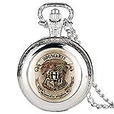 Reloj De Bolsillo De Cadena Vintage,Reloj De Pared Con Números Romanos De Cuarzo Reloj De Bolsillo Para Hombres Ensamble Animal Relojes De Bolsillo Para Adolescentes Collar Reloj De Bolsillo Con