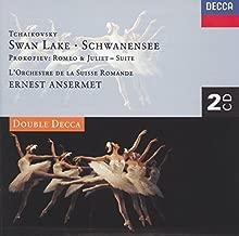 Tchaikovsky: Swan Lake / Prokofiev: Romeo and Juliet by L'Orchestre de la Suisse Romande (1996-03-06)