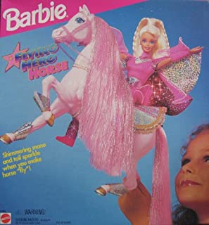Barbie Flying Hero Horse w Shimmering Mane & Tail (1995)