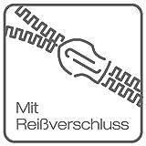 Bierbaum Bettwäsche 4757, Mako-Satin, Made in Germany, limone 18, 135x200 + 80x80 cm - 3